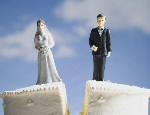 Un divort ciudat și complicat